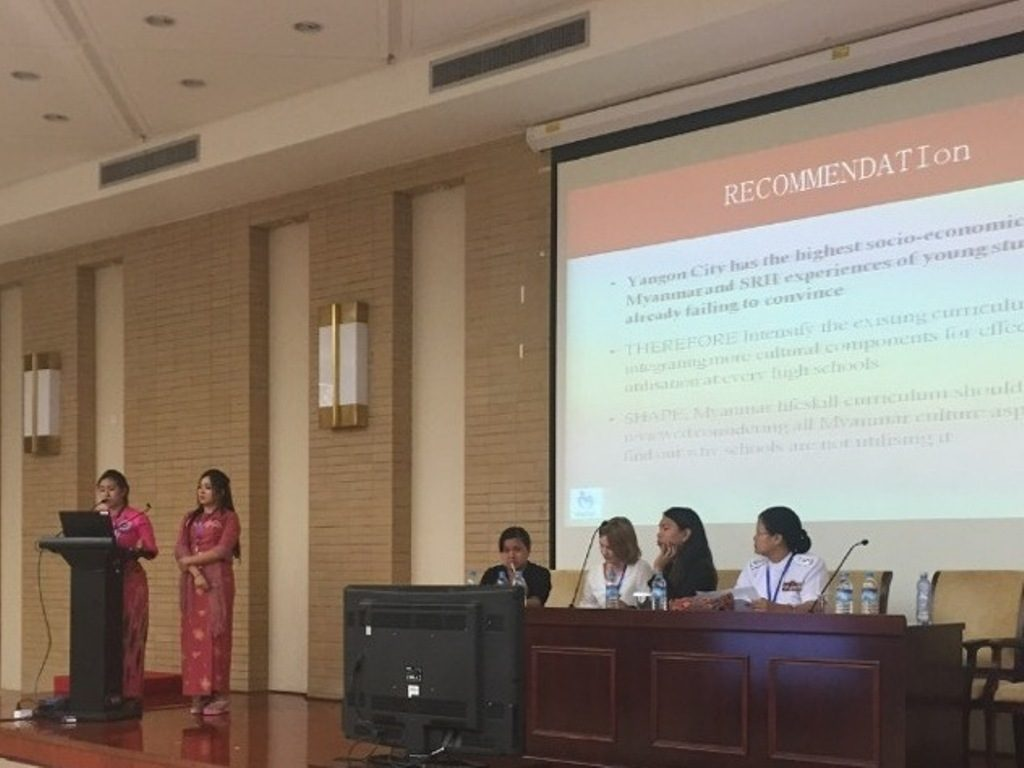 Reading Research Paper on Comprehensive Sexuality Education by MWCDF CEC at 8th APCRSHR