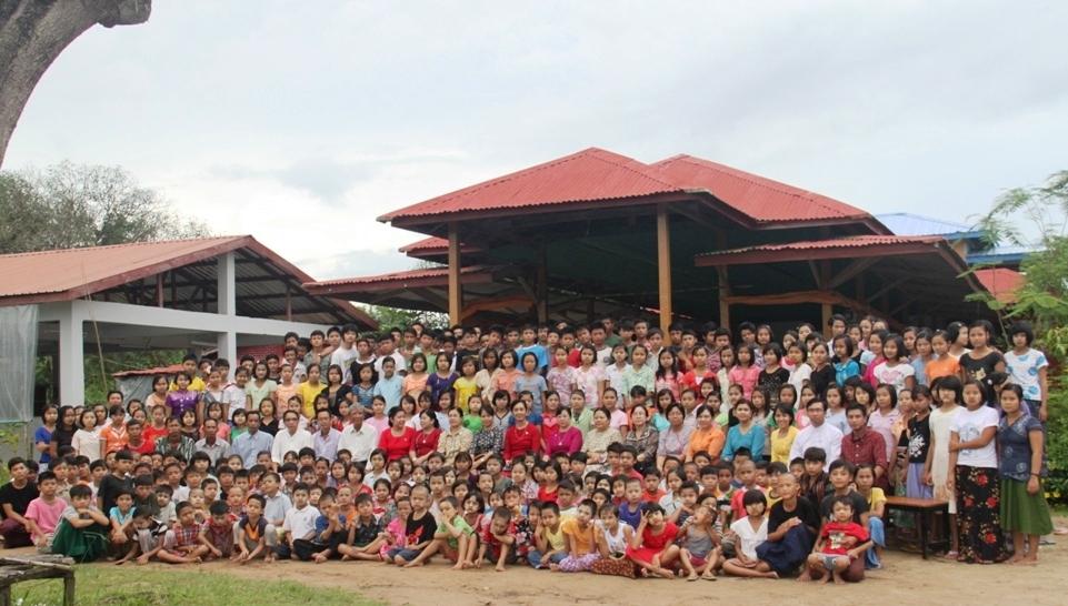 Lapyae Wun orphanage school, Titegyi Township,Yangon Region