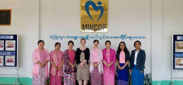 မြန်မာနိုင်ငံအမျိုးသမီးများနှင့် ကလေးသူငယ်များဘဝမြှင့်တင်ရေးအသင်း(MWCDF)နှင့် Mrs. Deborah Livingstone, Consultant(UK Department for International Development, DFID)၊ လူမှုဝန်ထမ်းဦးစီးဌာနမှ တာဝန်ရှိသူတို့ တွေ့ဆုံဆွေးနွေးခြင်း