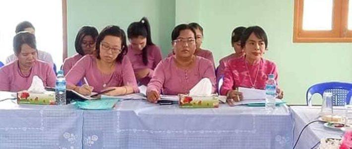 ပြည်သူလူထုသို့ တိုက်ရိုက်ဝန်ဆောင်မှုပေးနေသော အသိပညာပေး အလုပ်ရုံဆွေးနွေးပွဲ တက်ရောက်ခြင်း